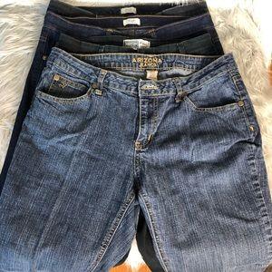 Denim - LOT OF 4 Women's Jeans